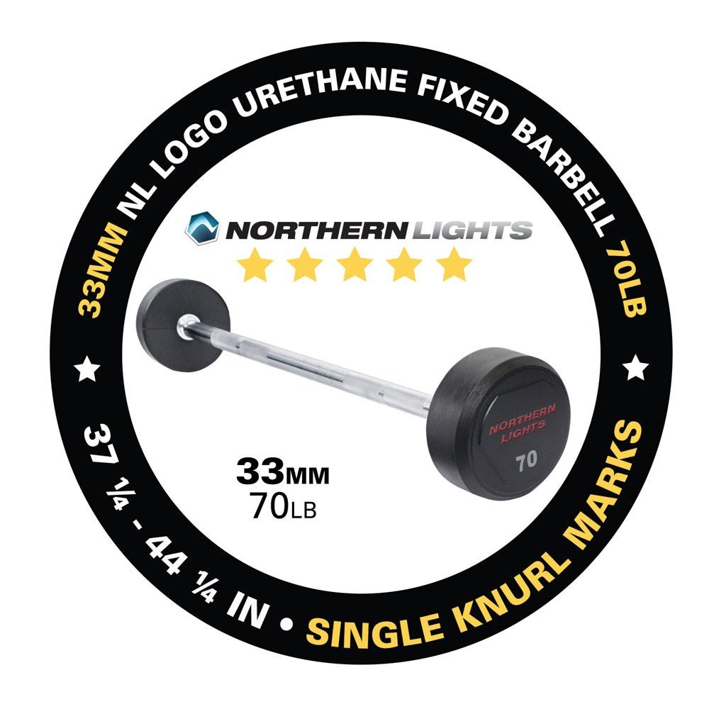 BFU070 fixed urethane barbell