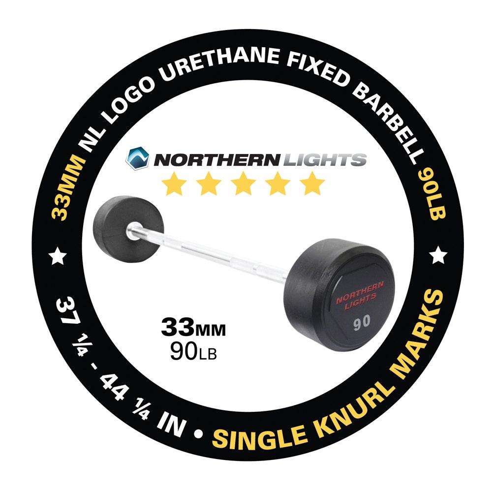 BFU090 fixed urethane barbell