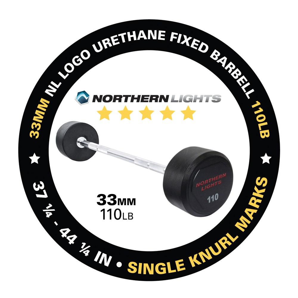BFU110 fixed urethane barbell